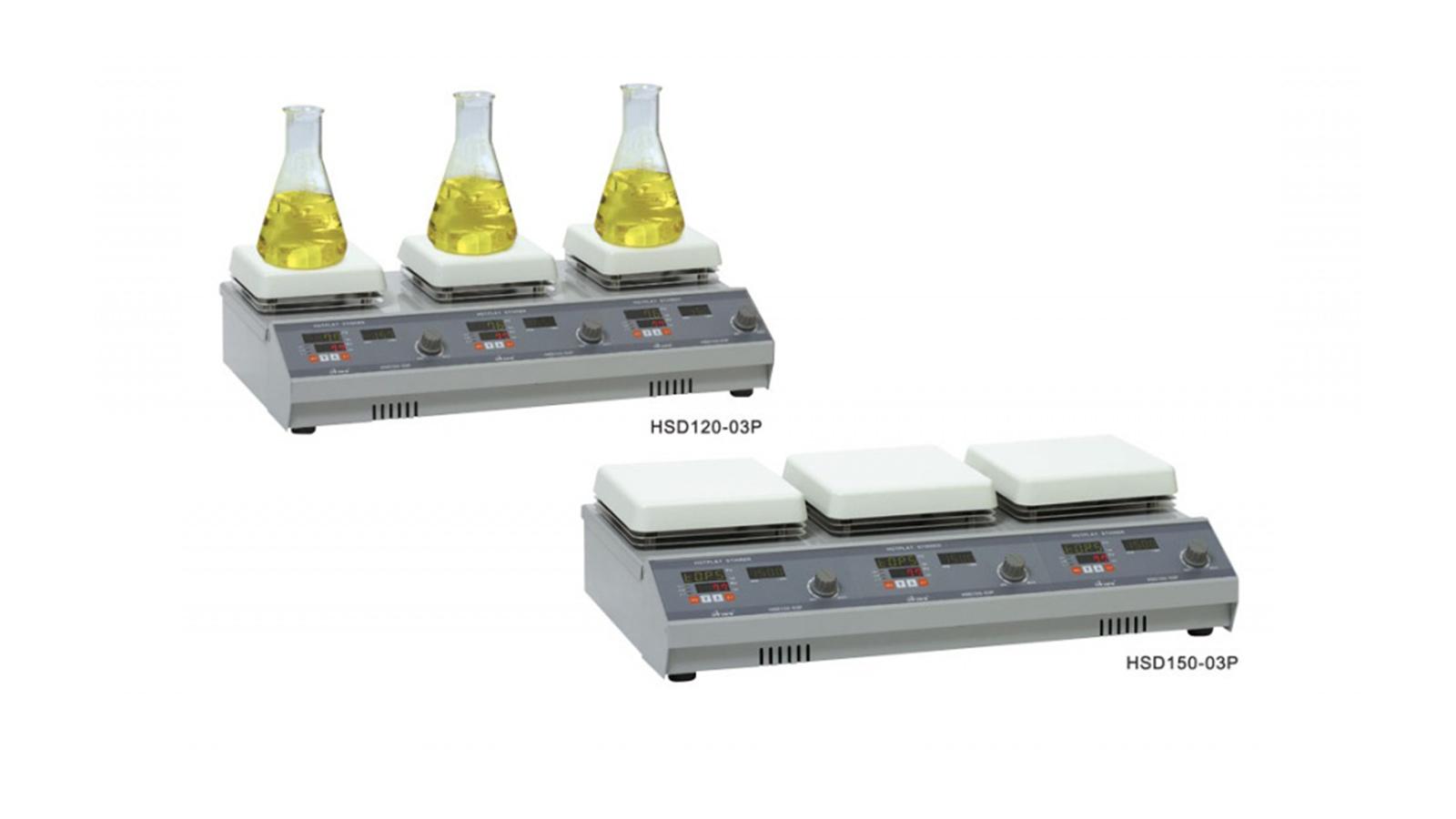 Dijital Çoklu Isıtıcılı Manyetik Karıştırıcı    Merlab Laboratuvar Ekipmanları