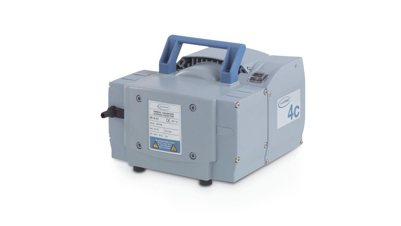Vacuubrand ME 4C NT Vakum Pompası || Merlab Laboratuvar Ekipmanları