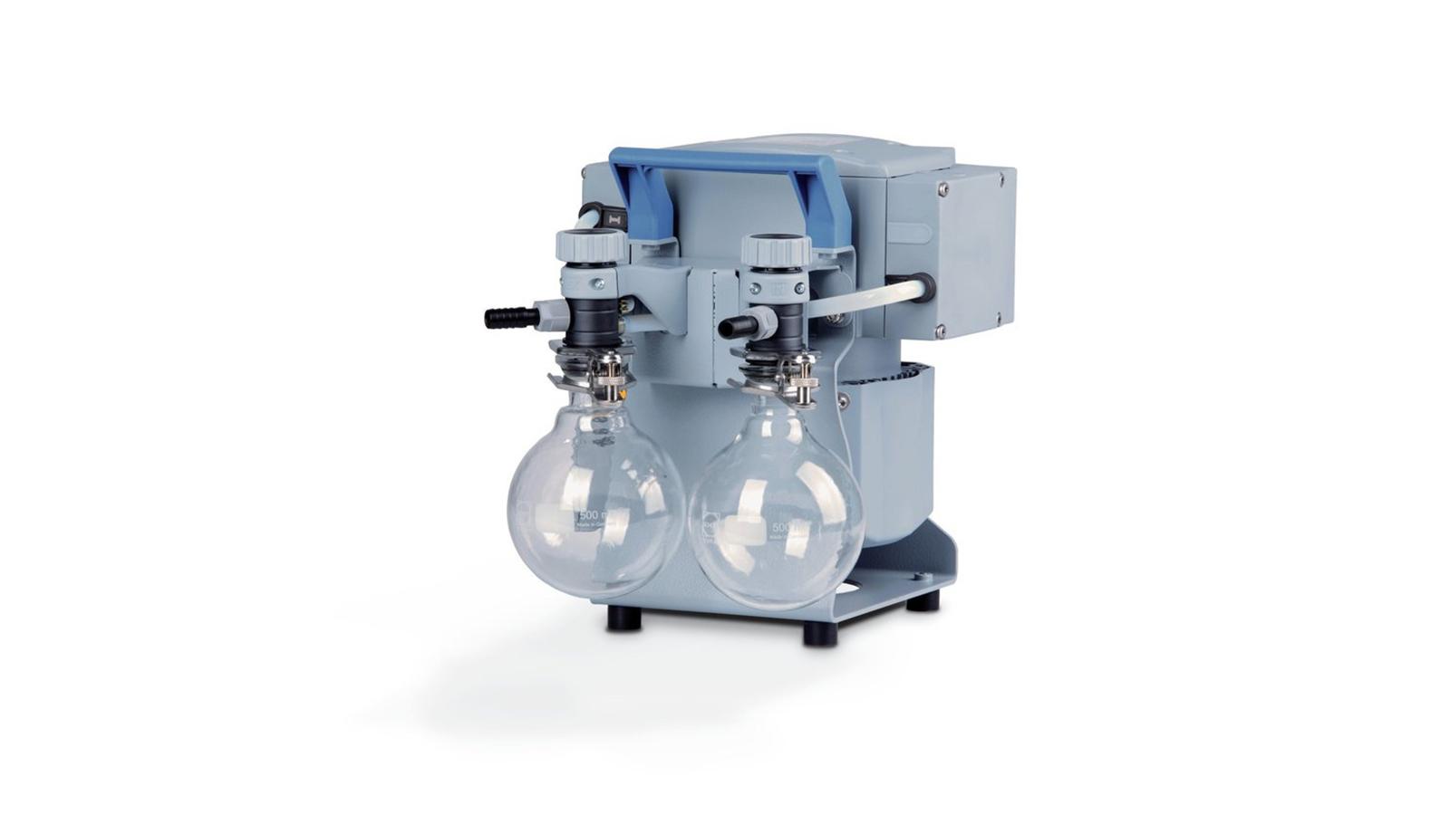 Vacuubrand ME 4C NT + 2AK Vakum Pompası || Merlab Laboratuvar Ekipmanları