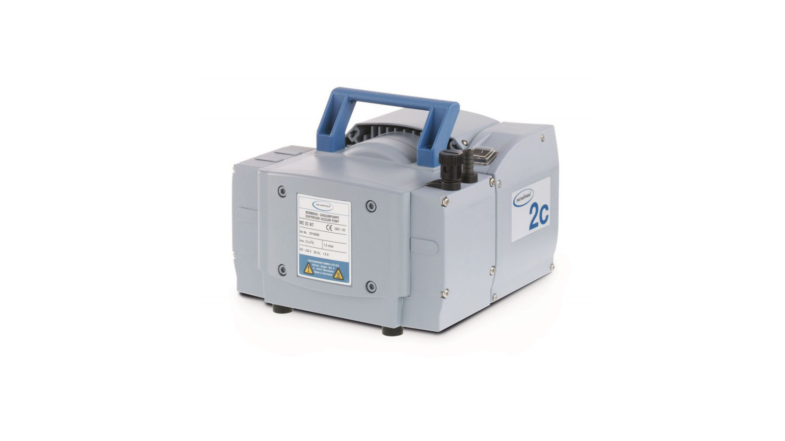 Vacuubrand MZ 2C NT Vakum Pompası || Merlab Laboratuvar Ekipmanları
