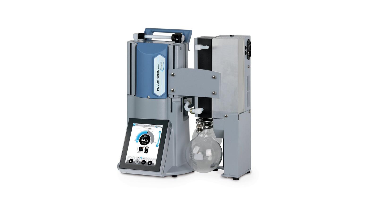 Vacuubrand PC 3001 VARIO select EK Peltronic Vakum Ünitesi || Merlab Laboratuvar Ekipmanları
