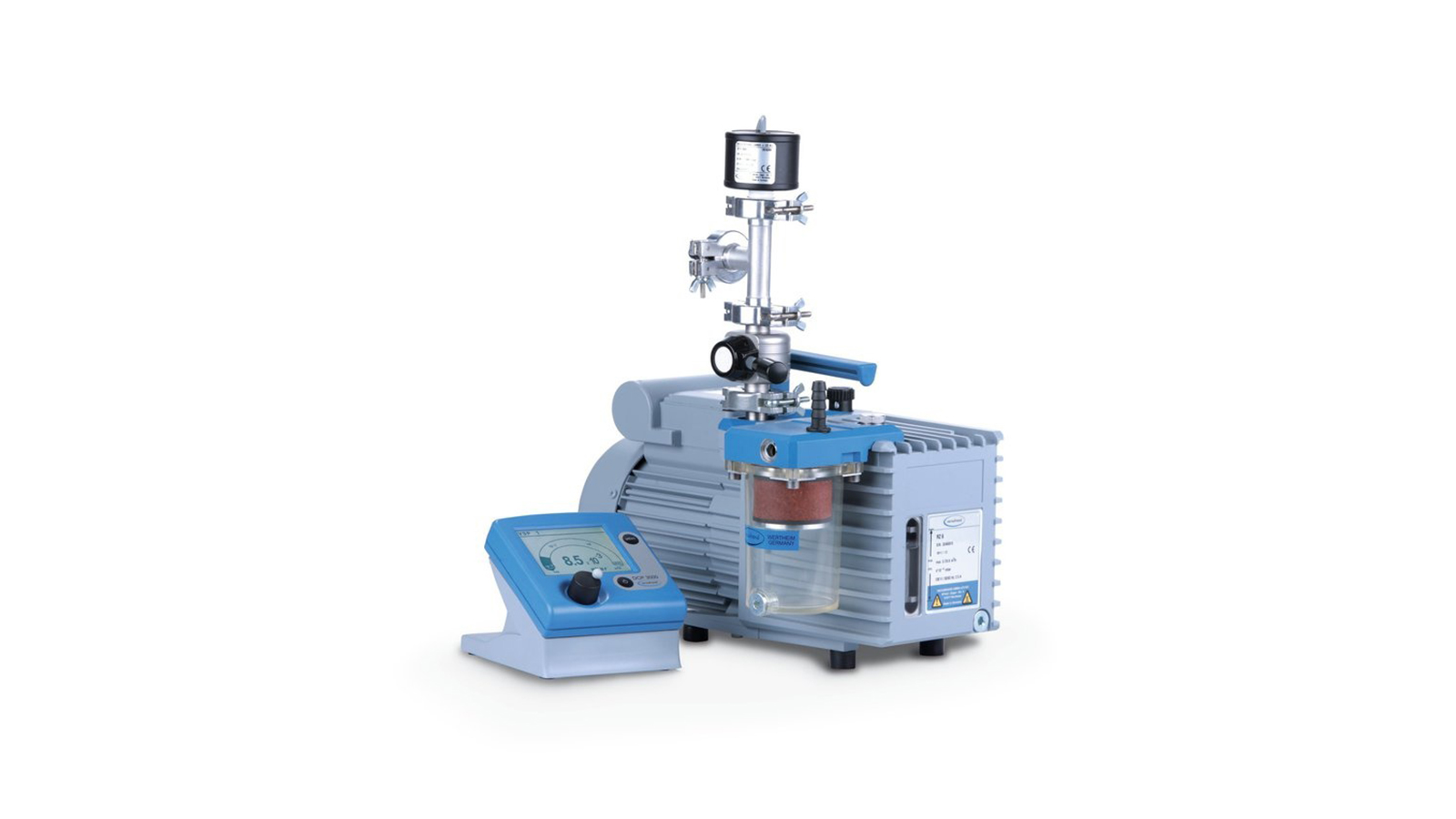 Vacuubrand Rotary Rz 6 + Fo + Vs 16 + Set Dcp + Vsp 3000 || Merlab Laboratuvar Ekipmanları
