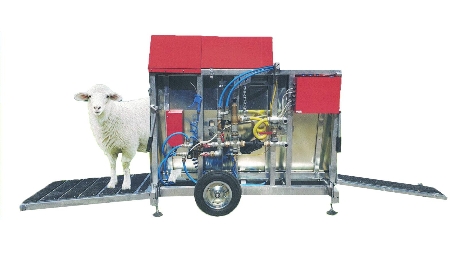 Koyun İlaçlama Makinesi - Banyoluk || Merlab Laboratuvar Ekipmanları