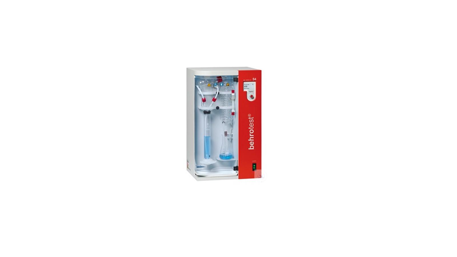 S4 Model Tam Otomatik Distilasyon Ünitesi || Merlab Laboratuvar Ekipmanları