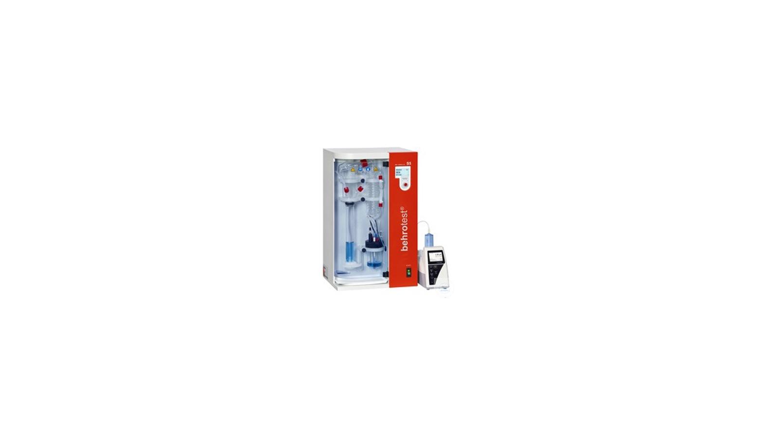 S5 Model Tam Otomatik Distilasyon Ünitesi || Merlab Laboratuvar Ekipmanları